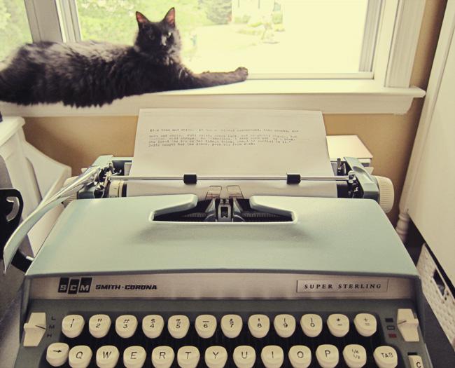 typewriter window web