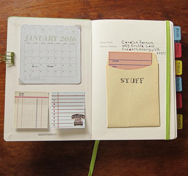 planner green calendar