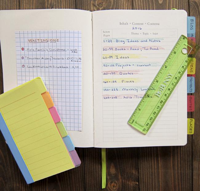 planner green ruler