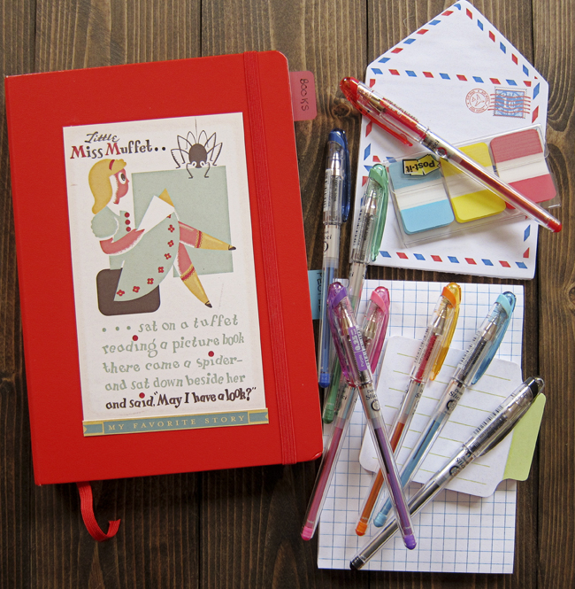 planner red
