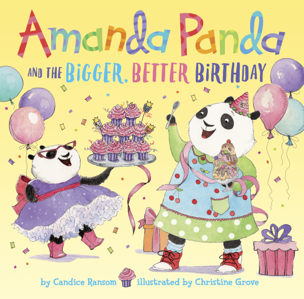 Amanda Panda Bigger Better Birthday
