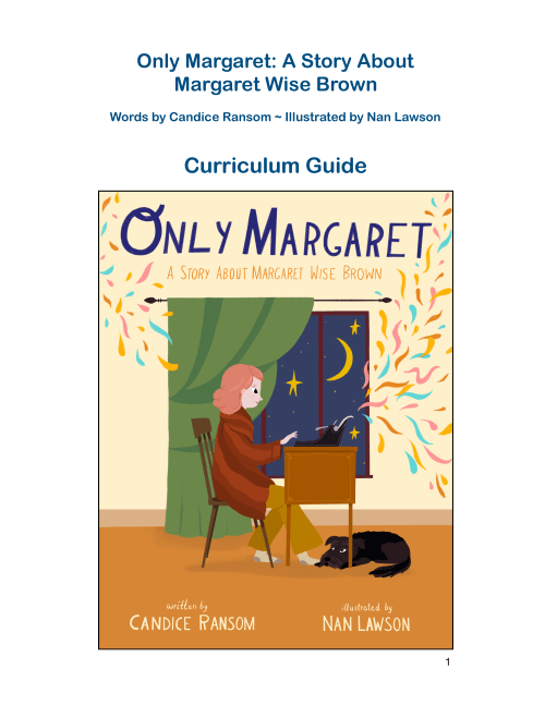 Only Margaret Teacher's Guide - thumb
